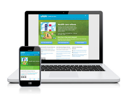 Health Care Reform microsite