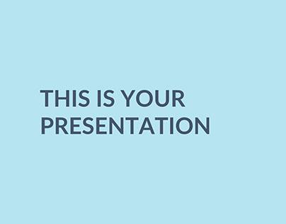 Mosom Kitchen Free PowerPoint Template