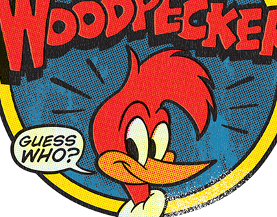 Woody Woodpecker Vintage Style Guide Apparel Graphics