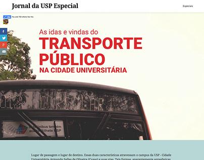 Página Especial - Transporte Público