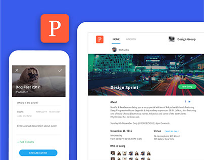 Parsnyp: Create and Manage Local Events