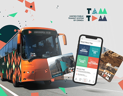 TAMTAM Transit System. Visual Identity and Branding