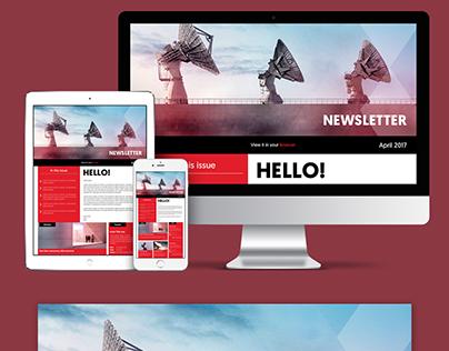BCX E-Newsletter - UI UX Design