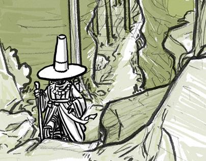 Journey storyboard