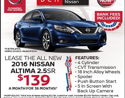 Pandora Ads - DCH Freehold Nissan