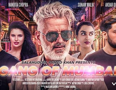 GANG OF MUMBAI Bollywood Movie Poster - Photoshop