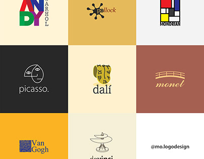 What If Painters Had Logos