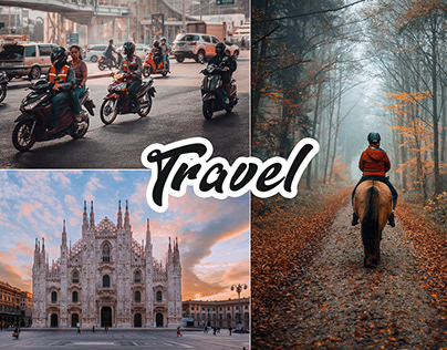 Travel Photoshop Actions