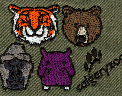 Calgary Zoo Embroidery