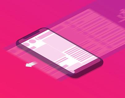 IPhone SVG Animated Mockup