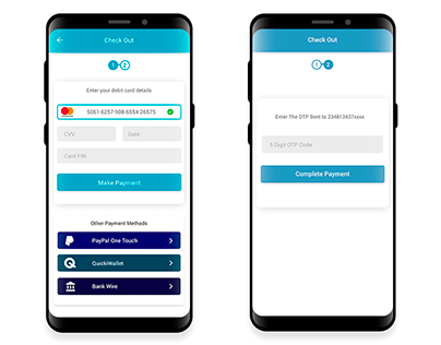 Simple Payment Screen