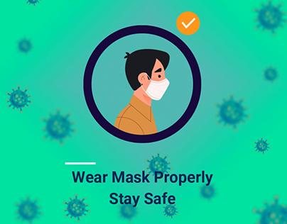 Wear Mask Properly Covid-19