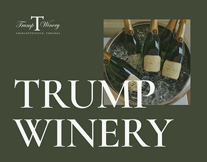 TRUMP WINERY Corporate website redesign