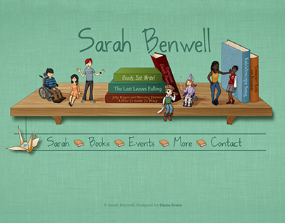 Sarah Benwell Website