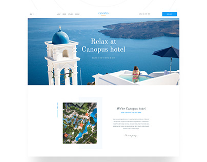Free Canopus Website Template