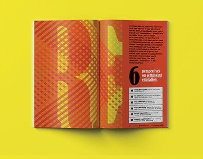 Rethinking Education Editorial Design