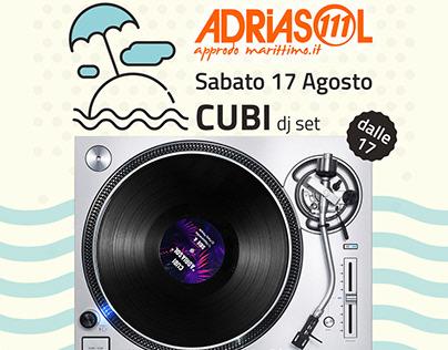 Comunicazione per evento c/o Adriasol 111