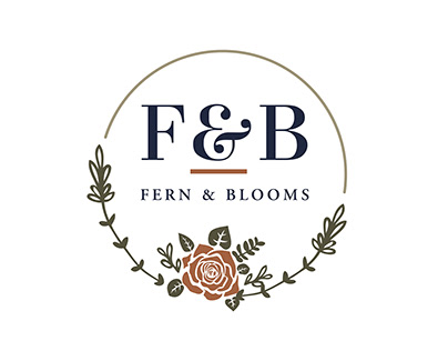 Identity Design for Fern and Blooms