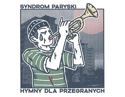 """Syndrom Paryski """"Hymny Dla Przegranych"""" cover art"""