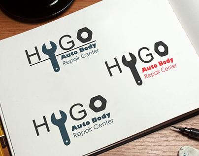 Hugo Auto Logo Concepts