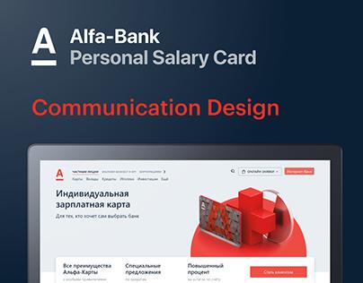 Alfa-Bank Personal Salary Card