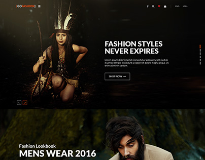 GoFashion - Fashion eCommerce Template