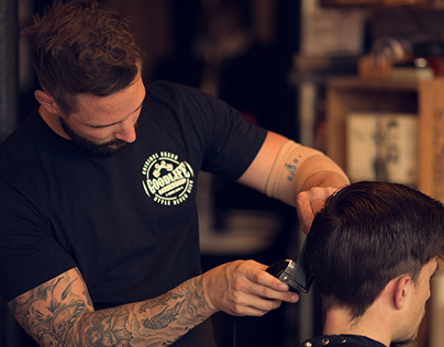 Goodlife Barbershop - Branding