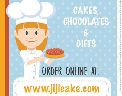 JiJi Bakery Branding