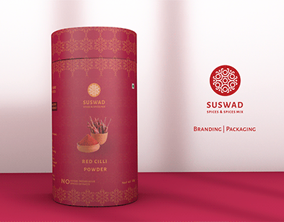 SUSWAD (Spices)- Branding | Packaging