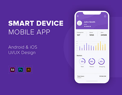 Smart Device Mobile App | UX/UI Design