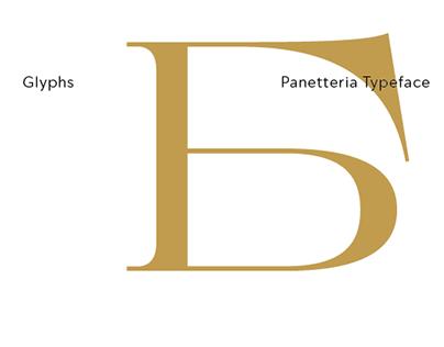 Panetteria Typeface