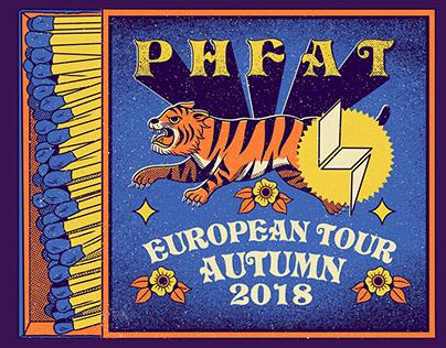 PHFAT European Tour Poster