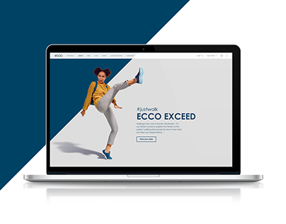 ECCO EXCEED Landing Page
