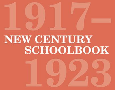 New Century Schoolbook Accordion Booklet