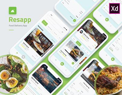 Restaurant Food Delivery App - UI/UX