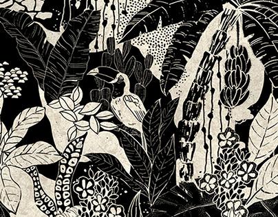 The Jungle print