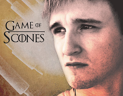 """""""Game of Scones"""" - Behind the Scenes Photography"""