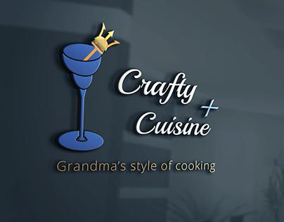 Crafty Cuisine Logo Design