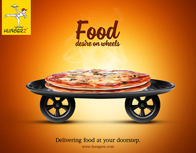 Hungerz home delivery Campaign
