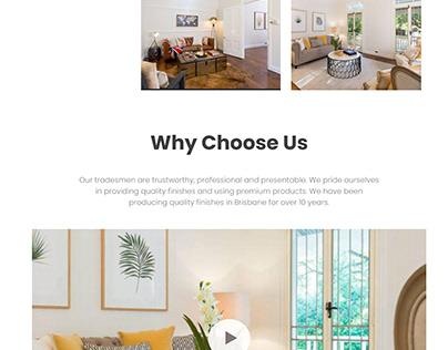 AR Painting Brisbane Website Redesign