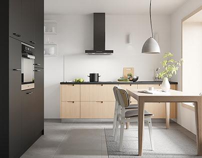 Ikea Wood Kitchen