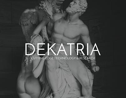 "Branding for ""Dekatria Ltd"""