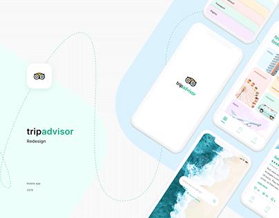 Redesign of TripAdvisor mobile app