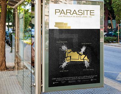 PARASITE - Afiche promocional - DG2 UADE
