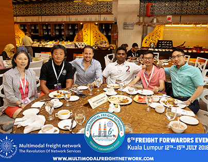 MFN malaysia 2018 freight forwarder event ( Dinner )