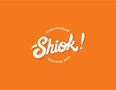 Shiok Singaporean Chicken Rice - Branding