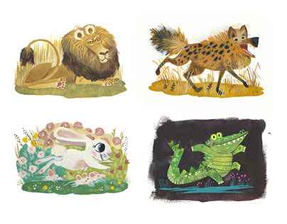 Gouache Paintings