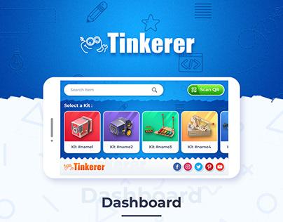 Tinkerer App - UI/UX
