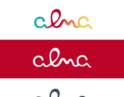 Logo empresa Alma