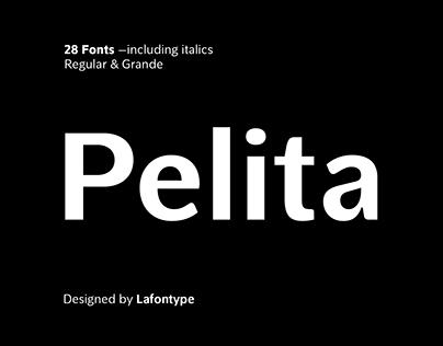 Pelita Typeface